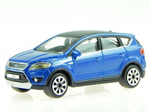 Preisvergleich Produktbild Ford Kuga blau Modellauto 30010 Bburago 1:43