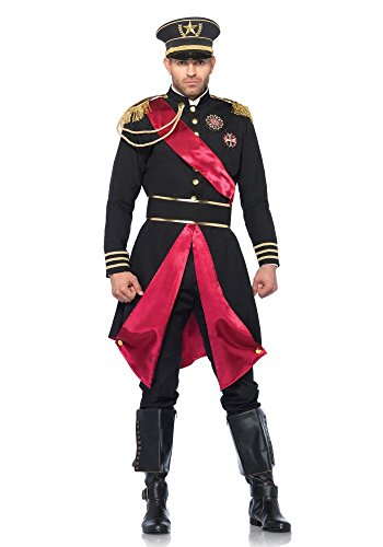 Herren-Kostüm Leg Avenue - Military General inkl. Hut, (Sexy Uniform Army)