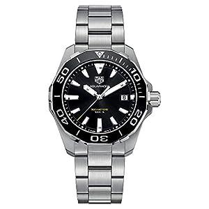 TAG Heuer Aquaracer Herren-Armbanduhr 41mm Quarz Analog WAY111A.BA0928
