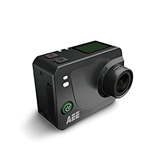 AEE Technology S60 Plus HD LCD TFT Display Time Lapse Action Camera with 40M IP40 Waterproof Case - Black ( 1080p, 60fps, 16MP, WiFi)