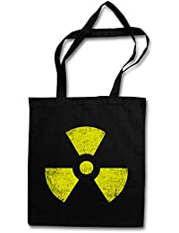 Cyber Punk Gothic Logo Sign CHAOS SYMBOL HIPSTER BAG Stofftasche Stoffbeutel