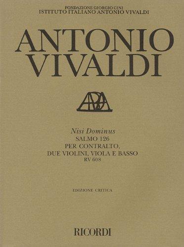 Antonio Vivaldi - Nisi Dominus: (Psalm 126), RV 608