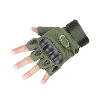 Ayouyou Halb finger Kampf handschuhe Outdoor Sports Military Halb finger handschuhe für Tactical Airsoft Jagd Reiten Radfahren