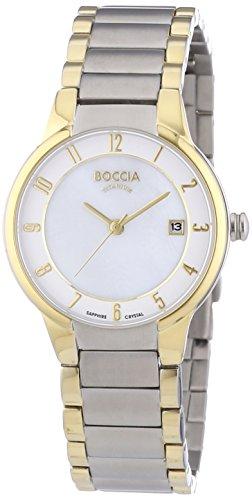 Boccia Damen-Armbanduhr XS Analog Quarz Titan 3228-02