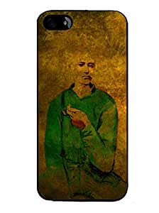 PrintVisa Metal Printed Manly Designer Back Case Cover for Apple iPhone 5/ 5G/ 5S-D4917