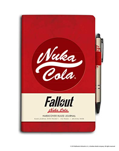 Fallout Hardcover Ruled Journal (With Pen) - Populären Video-spiele One Xbox