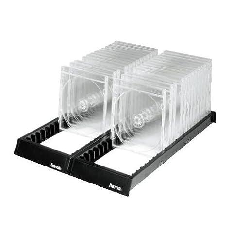 Hama - Flipper 44 - Rail de rangement CD - Capacité : 44 CD - Noir