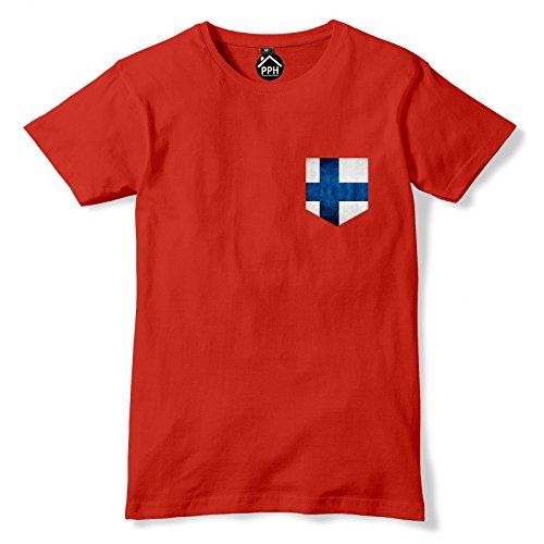 FunkyShirt  T-Shirt Rot