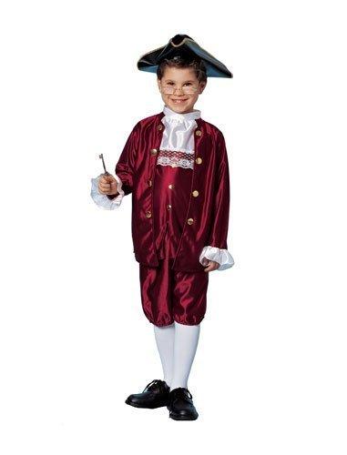 Franklin Ben Kostüm - Ben Franklin Child Costume Size Large by Costume SuperCenter