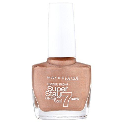 Maybelline New York Make-up superstay nailpolish Forever Strong 7Days acabado Gel Esmalte de Uñas/lacado color con Ultra Fuerte sujeción sin lámpara UV en enriquecidos Azul Oscuro, 1x 10ml