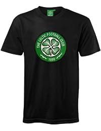 14887e3223036 Celtic FC Official Football Gift Mens Crest T-Shirt