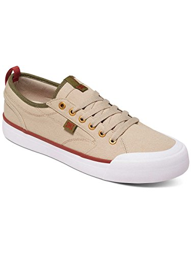 DC Shoes Evan Smith TX - Chaussures Pour Homme ADYS300275 Marron - Tan/Green