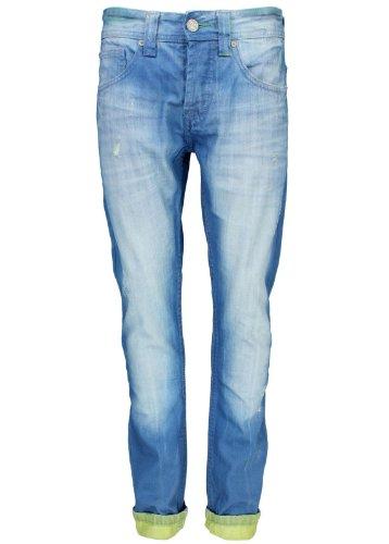 One Green Elephant Herren Skinny Jeans CHICO Blau / Grün