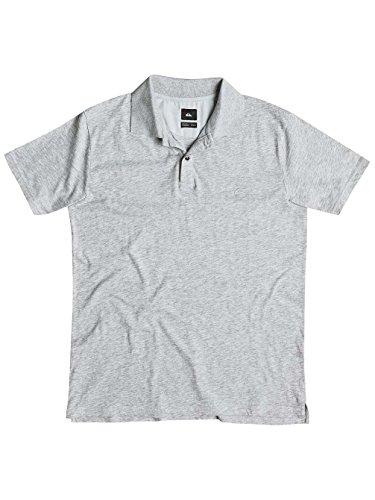 Herren Polo Shirt Quiksilver Snow Cruise Polo Light Grey Heather