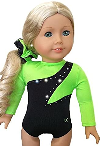 Doll Gymnastics Clothes for American Dolls for Girls Outfit Includes