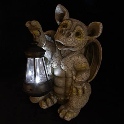 Decorative Garden Dragon Solar Lantern