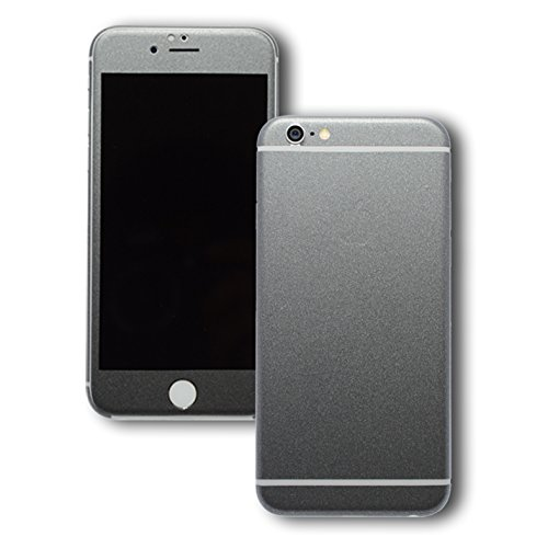 Opaco, FULL BODY-Skin adesivo decalcomania, Cover per iPhone 6, 11,94 (4,7 cm cosmo grigio