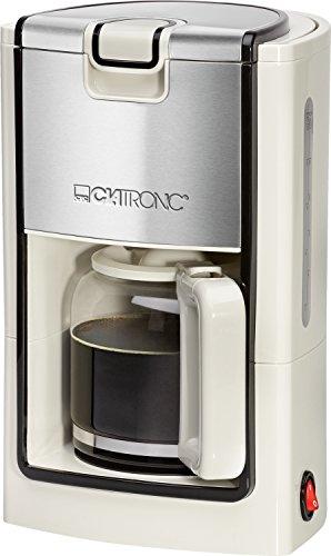 Clatronic KA 3558 Kaffeemaschine, creme