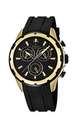 Festina Herren-Armbanduhr Chronograph Quarz Plastik F16839/1