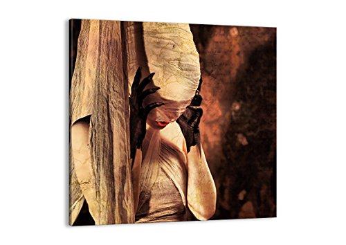 Bild auf Leinwand - Leinwandbilder - Einteilig - Breite: 70cm, Höhe: 70cm - Bildnummer 0216 - zum Aufhängen bereit - Bilder - Kunstdruck - AC70x70-0216 (Halloween-kostüme Schauspielerin Film)