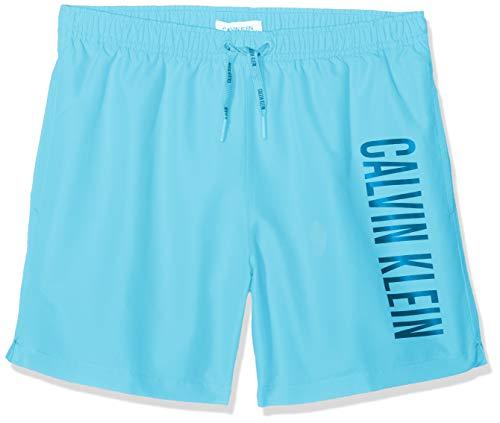 Tommy Hilfiger Medium Drawstring Bañador de natación, Blau Bachelor Button 444, 14-16...