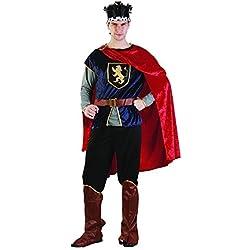 Reír Y Confeti - Fibmou008 - Para Disfraces para Adultos - Medieval Costume Príncipe de lujo - Hombre - Talla L