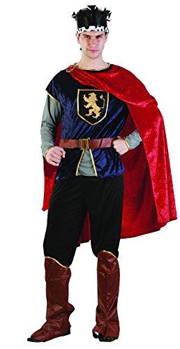 Rire et Confetti Fibmou008 - Costume per travestimento da principe medievale, da uomo, taglia L