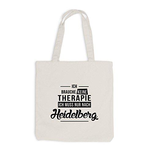 Borsa Di Juta - Non Ho Bisogno Della Terapia Heidelberg - La Terapia Di Vacanza Si Rilassa In Beige