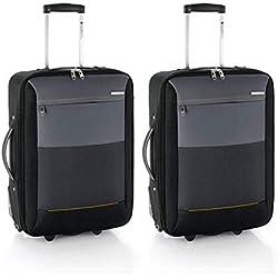 Gabol reims juego de 2 maletas de cabina 33 litros