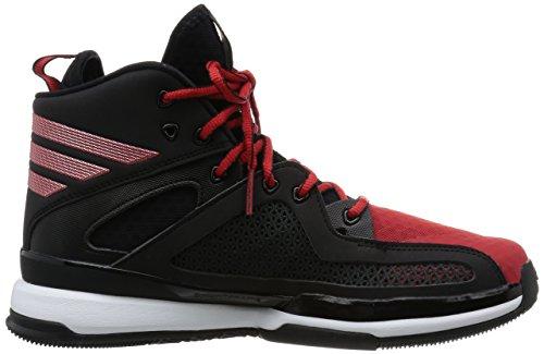 adidas Herren Adizero Pg Basketballschuhe Schwarz / Rot / Weiß (Negbas / Scarlet / Ftwbla)