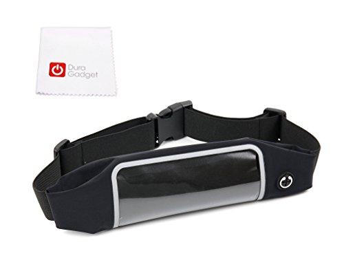 DURAGADGET Smartphone-Tasche für Bauch, Hüfte & Gesäß mit verstellbarem Steckverschluss und durchsichtigem Bedienfenster für Ihr Bestore A8 | A9 | X8 | Z8 IP67 und KV-MXCS-ZL3S (Toughgear)