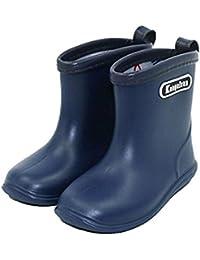 Niño Niña de Lluvia Zapatos - Niños a Prueba de Agua de Lluvia de Goma Botas de Lluvia Niño Ligera Zapatos
