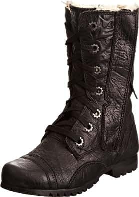 CAT Footwear Women's Jane Fur Boots P305366 Black 6 UK, 39 EU
