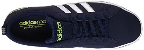 adidas Pace Vs, Scarpe da Ginnastica Uomo Blu (Collegiate Navy/Matte Silver/Solar Yellow)