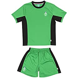 Licence Officielle Mini Kit AS St-Etienne Vert Junior - Collection Saint Etienne