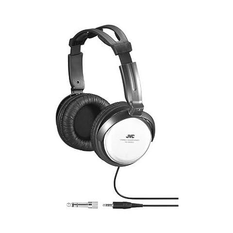 JVC HA-RX500 Casque Hi-Fi Aimant Néodyme 40 mm hautes performances Système « Direct Sound Delivery» pour un son puissant Adaptateur doré 6,3 mm