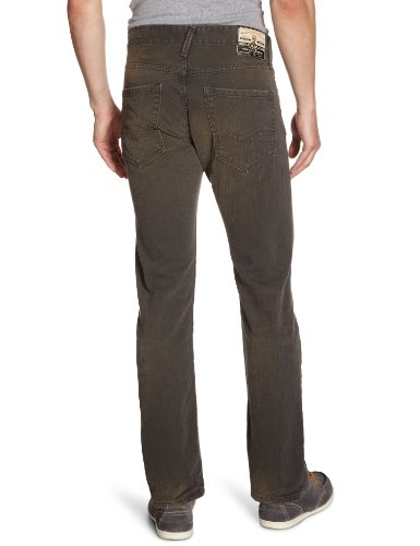 Replay - Jeans Droit - Homme Gris (charcoal grey 097)