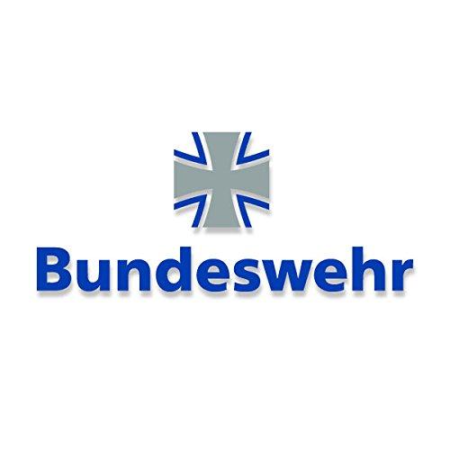 Bundeswehr Aufkleber Wappen Schriftzug BW Kreuz Tür Ticker Bund 60x25cm#A3719 -