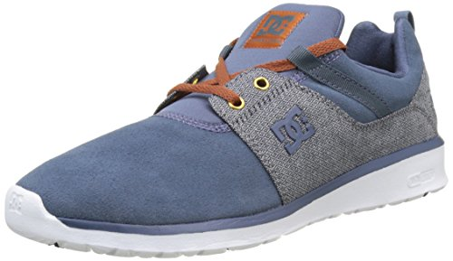 Dc Shoes Heathrow Se, Multicolore Basse Uomo (marine / Bleu / Blanc)
