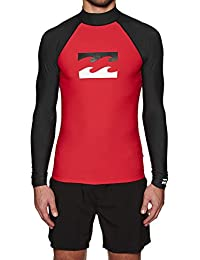BILLABONG Mens Team Wave Ls Swim Shirt