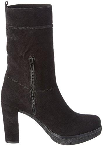 Unisa - Usini_bs, Stivali a metà polpaccio con imbottitura leggera Donna Nero (Nero (nero))