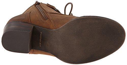 Madden Girl Westmont Boot Combat Cognac