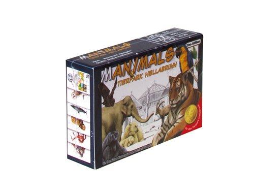 Adlung Spiele 46198 Nein Manimals Tierpark Hellabrunn Kartenspiel