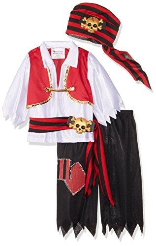 Kostüms Ahoy Matey (Ahoy Matey Boys Costume, Medium, One Color (japan)