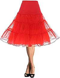 DaisyFormals 50s Retro Miriñaque Vintage Rockabilly Underskirt Baile Enagua, 66cm Longitud