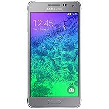 "Samsung Galaxy Alpha SM-G850F - Smartphone libre Android (pantalla 4.7"", cámara 12 Mp, 32 GB, Quad-Core 1.8 GHz, 2 GB RAM), plata (importado)"