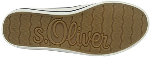 s.Oliver 24635, Scarpe da Ginnastica Basse Donna Blu (NAVY 805)