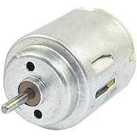 TOOGOO(R) 6.600 a 24.000 rpm pequeno motor electrico de corriente continua 1.5-6v cilindro de alta torsion