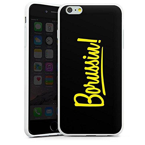 Apple iPhone 7 Silikon Hülle Case Schutzhülle Borussia Dortmund Borussin Fanartikel Silikon Case weiß