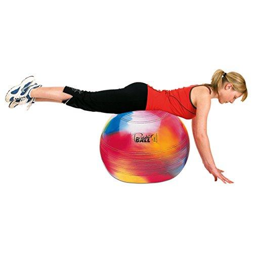 TOGU Gymnastikball Sitzball Powerball ABS, ø 65 cm, bunt